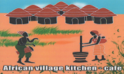 African Village Kitchen