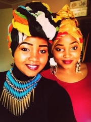 © Aicha Mohamed - 09/06/2013 Aicha and her sister Saddia