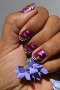 Hannah Trindorfer's nail design