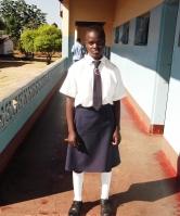 Zimbabwean school girl